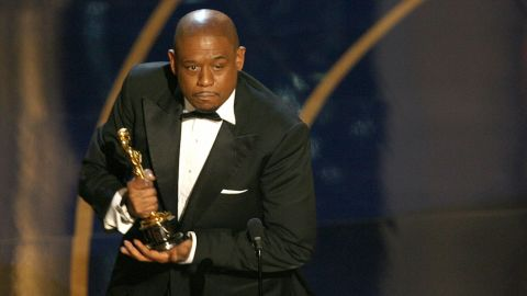 """""""The Last King of Scotland"""" star Forest Whitaker won best actor in 2007."""