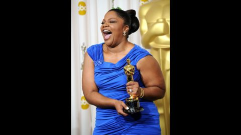 """In 2009, Mo'Nique was named best supporting actress for her role in """"Precious: Based on the Novel 'Push' by Sapphire."""""""