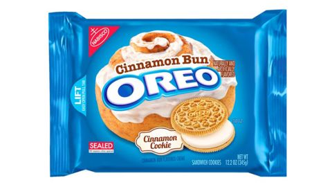Oreo cinnamon bun flavored cookies have officially hit the market. Click through the gallery for some other food mashups.