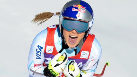 The U.S. ski star has been on fine form this season.