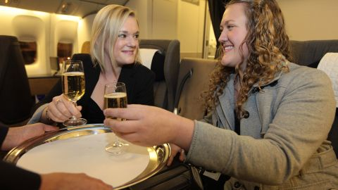 Popular myth decrees that people born on planes are often given free air travel for life, but this rarely happens. Shona Owen was presented with tickets to Australia by British Airways on her 18th birthday.
