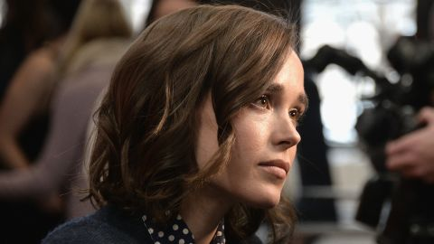 """Actress Ellen Page attends the Sundance premiere of """"Tallulah,"""" a dramedy about an irresponsible young woman who must suddenly learn to care for an infant. Page stars in the film."""