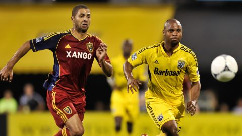 Prior to 2013, many Cubans defected in order to play professionally abroad. At least 30 have done so since 1999, including Yordany Alvarez -- pictured left in 2012 playing for U.S. Major League Soccer team Real Salt Lake.