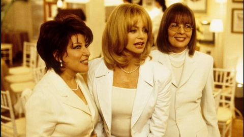 """""""First Wives Club"""" features Bette Midler, Goldie Hawn and Diane Keaton as three ex-wives who band together to get revenge on their lousy former husbands."""