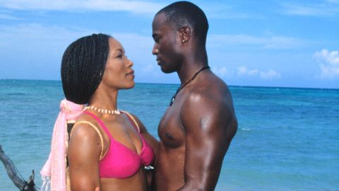 """In """"How Stella Got Her Groove Back,"""" Angela Bassett's """"Stella"""" finds romance after a dry spell while on vacation with a younger man played by Taye Diggs."""