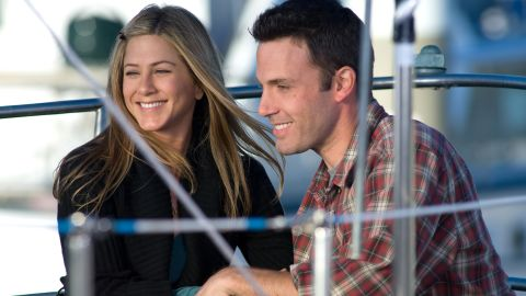 """The title, """"He's Just Not That Into You,"""" explains it all, but the characters have to work it out for themselves. Jennifer Aniston plays a long-suffering girlfriend who's waiting for her man, Ben Affleck, to propose."""