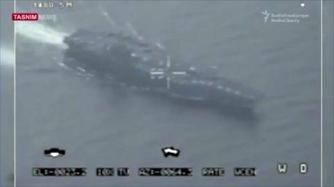 Iranian drone flies over U.S. aircraft carrier zc orig_00003810.jpg