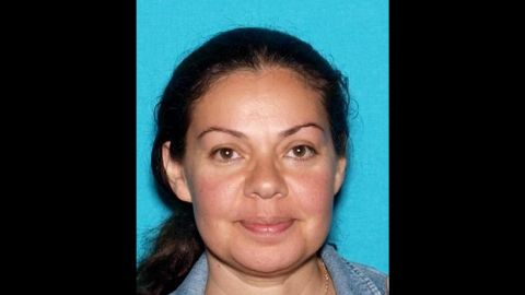 This undated photo provided by the Orange County Sheriff's Department shows Nooshafarin Ravaghi. Ravaghi, 44, who taught English classes at Central Men's Jail in Santa Ana, Calif., was was arrested Thursday, Jan. 28, 2016,  on suspicion of helping three inmates escape the lockup. She was arrested nearly a week after the men ó one an alleged killer ó cut their way out of the jail and rappelled down an outside wall last Friday. (Orange County Sheriff's Department via AP)