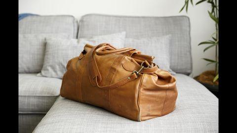 Katy Shaw's maternity bag.