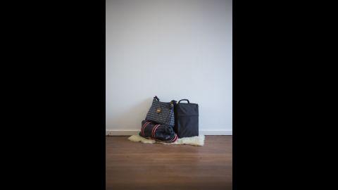 Joanna Laurie's birth bag.