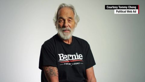 """Comedian Tommy Chong loves Bernie Sanders and <a href=""""http://www.cnn.com/2016/01/29/politics/tommy-chong-bernie-sanders-marijuana/"""" target=""""_blank"""">has endorsed</a> the Vermont senator for president.<br /><br />""""Bernie's like a kush, like the best kind of weed you can get, because he's the answer to all our problems,"""" Chong told CNN."""