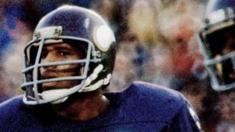 Family photos of former Minnesota Vikings football player Fred McNeill.