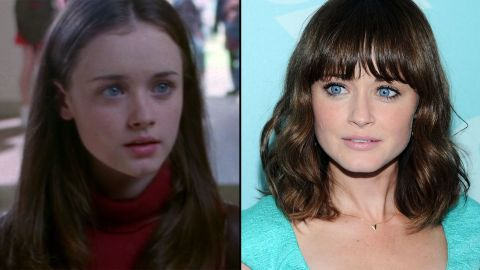 """After she left the super-smart Rory Gilmore behind, Alexis Bledel reprised her role as Lena in 2008's """"The Sisterhood of the Traveling Pants 2."""" She's also starred in films like """"Post Grad"""" and """"The Kate Logan Affair."""" In 2012, Bledel had a recurring role on """"Mad Men"""" that had her act alongside her now-husband, Vincent Kartheiser."""