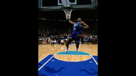 """<strong>Isaiah Rider (1994):</strong> The """"East Bay Funk Dunk."""" That's what Rider, an Oakland native, called his between-the-legs jam that won him the title. """"Oh my god,"""" Charles Barkley said on the broadcast. """"That might be the best dunk I've ever seen."""""""