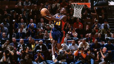 <strong>Jason Richardson (2002):</strong> The NBA adopted a tournament format this time around. Richardson defeated Mason, the defending champion, in the semifinals before dispatching Gerald Wallace in the final. Richardson's performance included a 360 windmill and a reverse dunk he caught off the bounce.