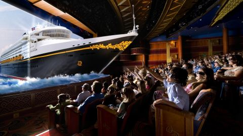 """Disney Wonder won for """"best entertainment"""" and """"best service"""" in the 2016 Cruisers' Choice Awards from CruiseCritic.com."""