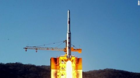 The Kwangmyongsong carrier rocket blasted off from the Sohae launch facility at 9 a.m Sunday (7:30 p.m. ET Saturday), entering orbit nine minutes and 46 seconds after liftoff, North Korea's state news agency KCNA reported.