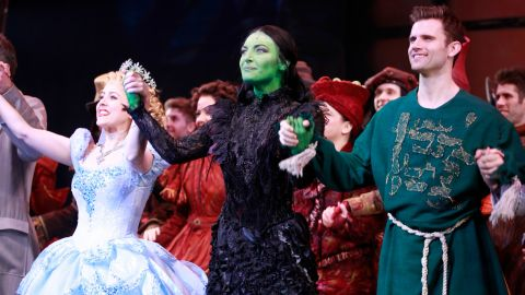 """""""Wicked"""" fell short of a best musical Tony, with """"Avenue Q"""" taking the prize in 2004. But it's had a long life, with devoted fans queueing up many times to see the story of """"The Wizard of Oz"""" from the Wicked Witch's point of view. It's still going on Broadway after more than 5,000 performances."""