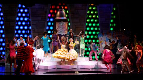 """""""Hairspray"""" might have seemed an unlikely source for a musical -- a John Waters film about 1960s high schoolers? -- but it was a smash when it debuted in 2002 and ran for more than 2,500 performances. It also picked up a Tony for best musical."""