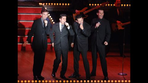 """""""Jersey Boys"""" could have been a simple jukebox musical, but the story of the Four Seasons had too much going for it to fit into that (juke) box. The result won best musical at the 2006 Tonys and is still running, more than 4,000 performances later."""