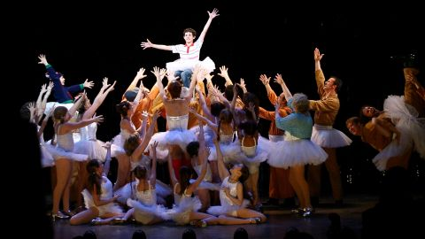 """""""Billy Elliot: The Musical,"""" based on the 2000 film about a boy who loves ballet in the midst of a grim UK miners' strike, had the benefit of a superstar music writer: Elton John. (Lyrics and book are by Lee Hall.) The show won best musical at the 2009 Tonys, one of 10 honors it received. The show ran for more than three years."""
