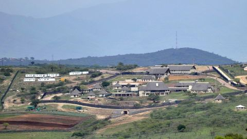 Jacob Zuma's private residence in Nkandla, South Africa