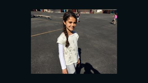 Mia Deukmejian was one of 2,000 students displaced from their schools in Porter Ranch.