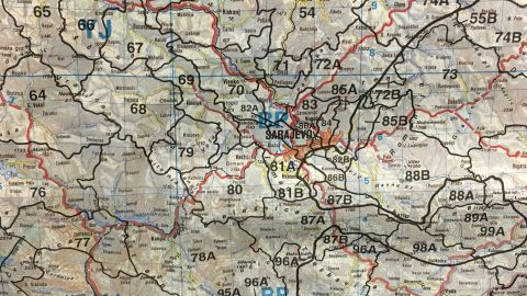 CNN's Nic Robertson says he keeps an old map of Bosnia as a reminder of the futility and waste of war.