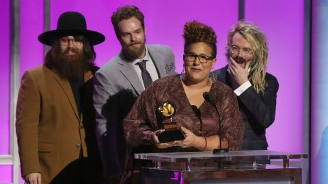 """""""Sound & Color,"""" Alabama Shakes. The band later won best rock performance for """"Don't Wanna Fight."""""""