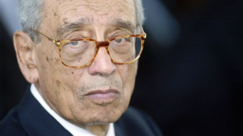 """<a href=""""http://www.cnn.com/2016/02/16/world/un-boutros-boutros-ghali-dies/index.html"""" target=""""_blank"""">Boutros Boutros-Ghali</a>, who was the United Nations' sixth secretary-general in the early 1990s, died on February 16. He was 93."""