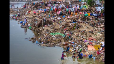 The city of Chennai, India is recovering from one of the worst floods in over a century.
