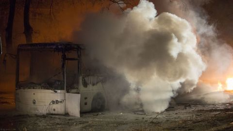 An explosion rocked the Turkish capital of Ankara on Wednesday evening, killing five people and injuring 10 others, Turkey's semiofficial Anadolu news agency reported, citing Ankara Gov. Mehmet Kiliclar. The explosion happened as a convoy of military vehicles was passing by.