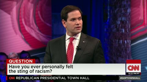 sc gop town hall marco rubio experience with racism 9_00010014.jpg