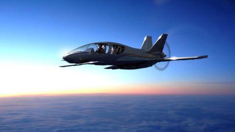 The Cobalt Valkyrie light aircraft.