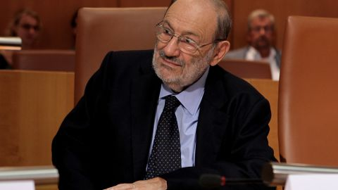 """<a href=""""http://www.cnn.com/2016/02/19/europe/umberto-eco-dead/index.html"""">Umberto Eco</a>, author of the novels """"The Name of the Rose"""" and """"Foucault's Pendulum,"""" died February 19 at the age of 84, his U.S. publisher said."""