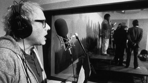 """In 1987, Sanders and a group of Vermont musicians recorded a spoken-word folk album. """"We Shall Overcome"""" was first released as a cassette that sold about 600 copies. When Sanders entered the US presidential race in 2015, <a href=""""http://money.cnn.com/2016/02/05/media/bernie-sanders-folk-album-we-shall-overcome/"""" target=""""_blank"""">the album surged in online sales.</a> But at a CNN town hall, Sanders said, """"It's the worst album ever recorded."""""""