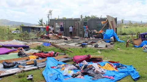 """On Fiji's main island Viti Levu, most of the damage was sustained in the north and western areas, as seen in this image posted by the Fiji government on <a href=""""https://www.facebook.com/FijianGovernment/"""" target=""""_blank"""" target=""""_blank"""">Facebook.</a>"""