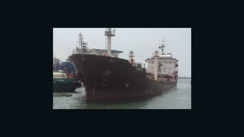 The Saudi Arabian tanker, Maximus, was taken on February 11 with at least 18 crew