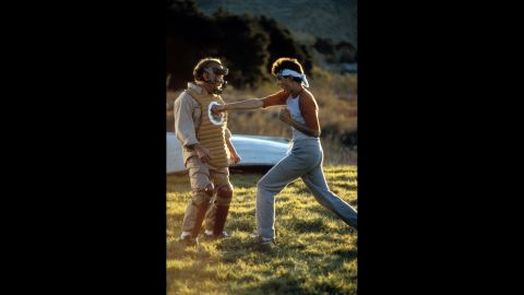 """<strong>""""The Karate Kid""""</strong> In this 1984 film, Ralph Macchio plays Daniel, a new kid in high school who's getting pushed around by a bunch of bullies. But things begin to improve when Pat Morita -- as the wise old Mr. Miyagi -- teaches Daniel martial arts through """"wax on, wax off"""" and other unorthodox training methods. <strong>Where to watch: </strong>Amazon Prime Video (rent/buy); Google Play (rent/buy); iTunes (rent/buy)"""