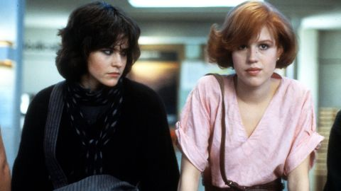 """<strong>""""The Breakfast Club"""" </strong>What '80s star wasn't in this film? Ally Sheedy, Molly Ringwald, Judd Nelson, Emilio Estevez and Anthony Michael Hall -- aka """"The Breakfast Club"""" -- defined teen angst and cemented director John Hughes' reputation. The group begins a Saturday of detention as five people with little or nothing in common, only to find at the day's end that they're far more united than they thought. """"It still is my favorite of the John Hughes films,"""" Ringwald says in """"The Movies,"""" """"just because I think it is so unique and nothing like that had ever been done."""" <strong>Where to watch: </strong>Amazon Prime Video (rent/buy); Google Play (rent/buy); iTunes (rent/buy)"""