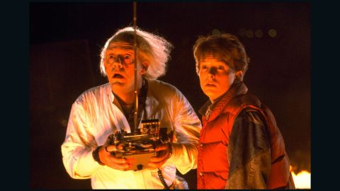 """<strong>""""Back to the Future""""</strong> It's been 34 years since Michael J. Fox made his debut on the big screen as Marty McFly in this 1985 classic. Fox played the teen, who is hurled back to 1955 in a time-traveling DeLorean, alongside Christopher Lloyd's mad professor. Most of the film pivots on the duo devising a way to ride the DeLorean back to the future (ahem). <strong>Where to watch: </strong>Amazon Prime Video (rent/buy); Google Play (rent/buy); iTunes (rent/buy)"""