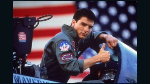 """<strong>""""Top Gun"""" </strong>After this 1986 film, Tom Cruise became the grown-up and bankable box-office star we know today. This drama, about a cocky Navy fighter pilot, introduced such unforgettable lines such as """"I feel the need, the need for speed"""" and """"It's classified. I could tell you, but then I'd have to kill you."""" The movie was known just as much for its soundtrack, which included Berlin's steamy ballad """"Take My Breath Away"""" and the Kenny Loggins tune """"Danger Zone."""" <strong>Where to watch: </strong>DirecTV; Amazon Prime Video (rent/buy); Google Play (rent/buy); iTunes (rent/buy)"""