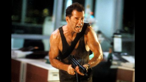 """<strong>""""Die Hard""""</strong> Yippee-ki-yay! Bruce Willis plays New York police officer John McClane, who is attending a company function with his wife in Los Angeles only to find himself having to save everyone from German terrorists (including Alan Rickman in a career-defining role). Think reality-defying brushes with bombs, guns and gravity. """" 'Die Hard"""" is as perfect in its own way as 'Casablanca,' """" says film critic Alonso Duralde. <strong>Where to watch: </strong>Amazon Prime Video (rent/buy); Google Play (rent/buy); iTunes (rent/buy)"""