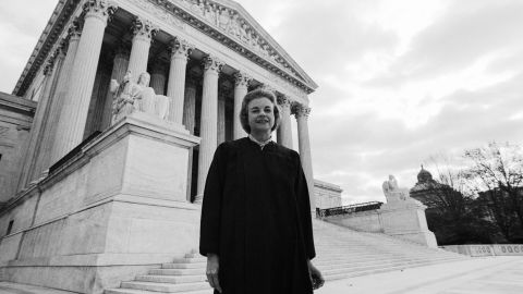 """<strong>A female first:</strong> On September 25, 1981, Sandra Day O'Connor became the first woman to be appointed to the U.S. Supreme Court. She later said on <a href=""""http://www.npr.org/2013/03/05/172982275/out-of-order-at-the-court-oconnor-on-being-the-first-female-justice"""" target=""""_blank"""" target=""""_blank"""">NPR's """"Fresh Air"""":</a> """"I felt a special responsibility ... as the first woman. ... It became very important that I perform in a way that wouldn't provide some reason or cause not to have more women in the future."""""""