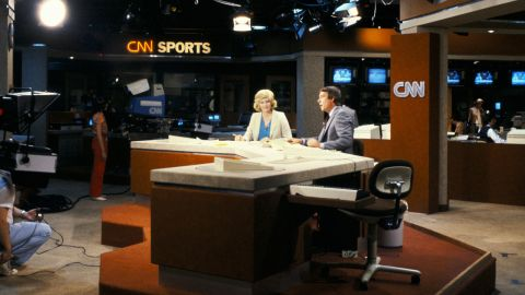 """<strong>The birth of cable news:</strong> CNN, the world's first 24-hour television news network, <a href=""""http://cnnpressroom.blogs.cnn.com/2011/06/01/cnns-first-broadcast-june-1-1980/"""" target=""""_blank"""">debuted </a>on June 1, 1980. David Walker and Lois Hart, who were husband and wife, anchored the first broadcast."""