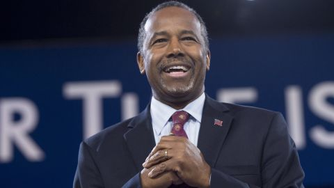 Republican Presidential hopeful Ben Carson speaks during the annual Conservative Political Action Conference (CPAC) 2016 at National Harbor in Oxon Hill, Maryland, outside Washington, March 4, 2016. / AFP / SAUL LOEB        (Photo credit should read SAUL LOEB/AFP/Getty Images)