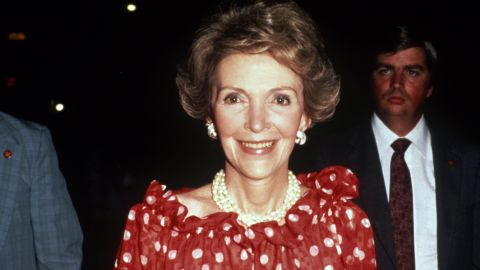 """Former first lady <a href=""""http://www.cnn.com/2016/03/06/politics/nancy-reagan-dies-obit/index.html"""" target=""""_blank"""">Nancy Reagan</a>, who joined her husband on a storybook journey from Hollywood to the White House, died of heart failure on March 6. She was known as a fierce protector of her husband, President Ronald Reagan, as well as a spokeswoman of the """"just say no"""" anti-drug campaign. She was 94."""