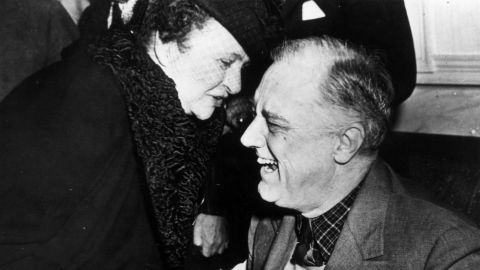Frances Perkins was the first woman to serve as a member of the President's Cabinet. She was appointed labor secretary by President Franklin D. Roosevelt in 1933.