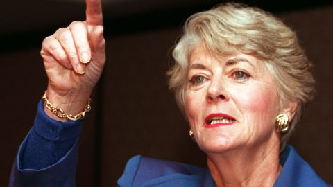 In 1984, Geraldine Ferraro became the first woman to run on a major party's national ticket. She was Walter Mondale's running mate.