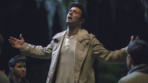 """Jencarlos Canela portrayed Jesus in the musical """"The Passion,"""" which aired live on FOX on Palm Sunday in 2016."""